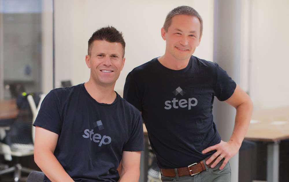 Step founders, CJ MacDonald and Alexey Kalinichenko