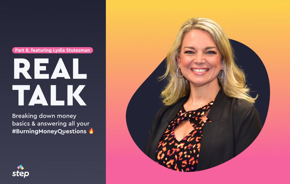 Real Talk: Part 8, featuring Lydia Stutesman