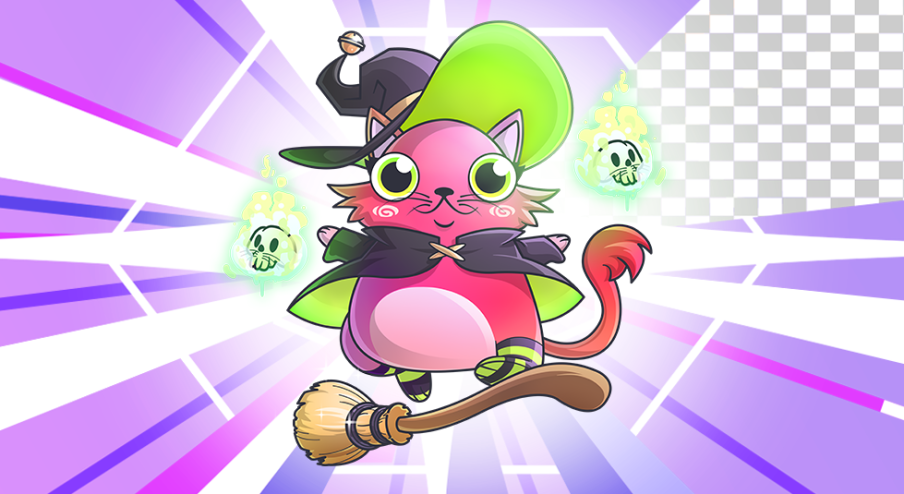 Meet a bewitching new Fancy Cat image