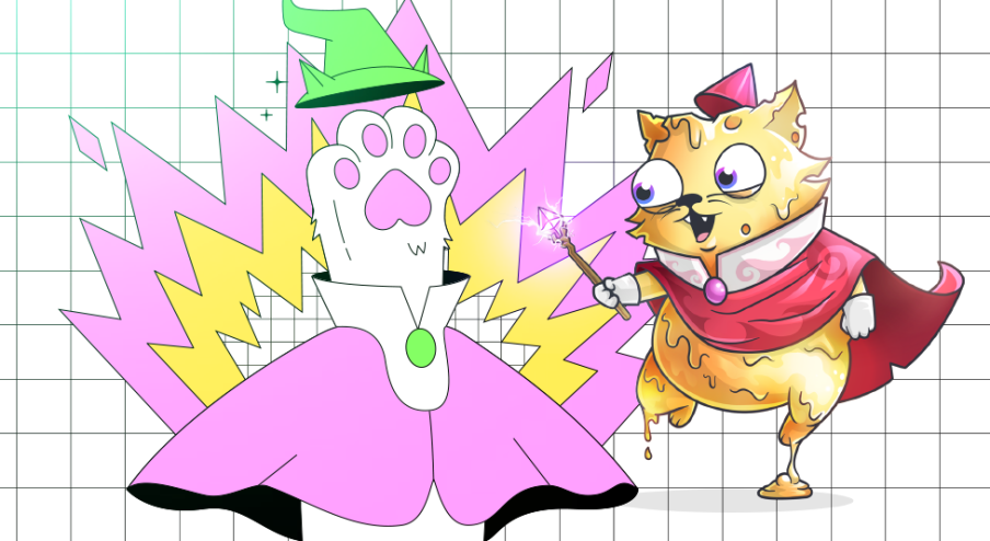 Use Curdlin to give your Cheeze Wizards some Kitty flair image
