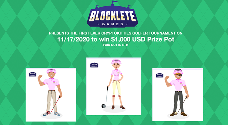 CryptoKitties x Blocklete Games image