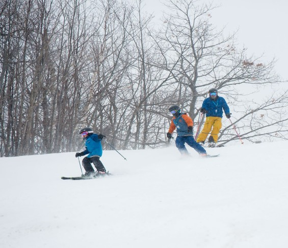 Blue Mountain Winter Family Skiing