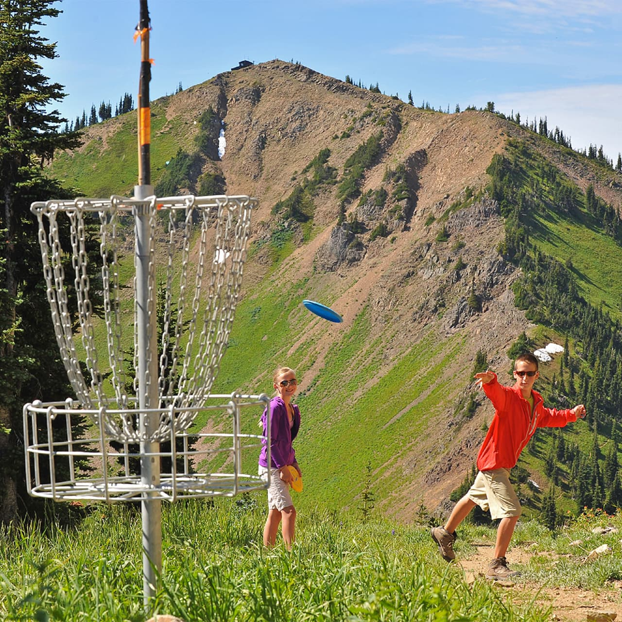 Crystal Mountain disc golf