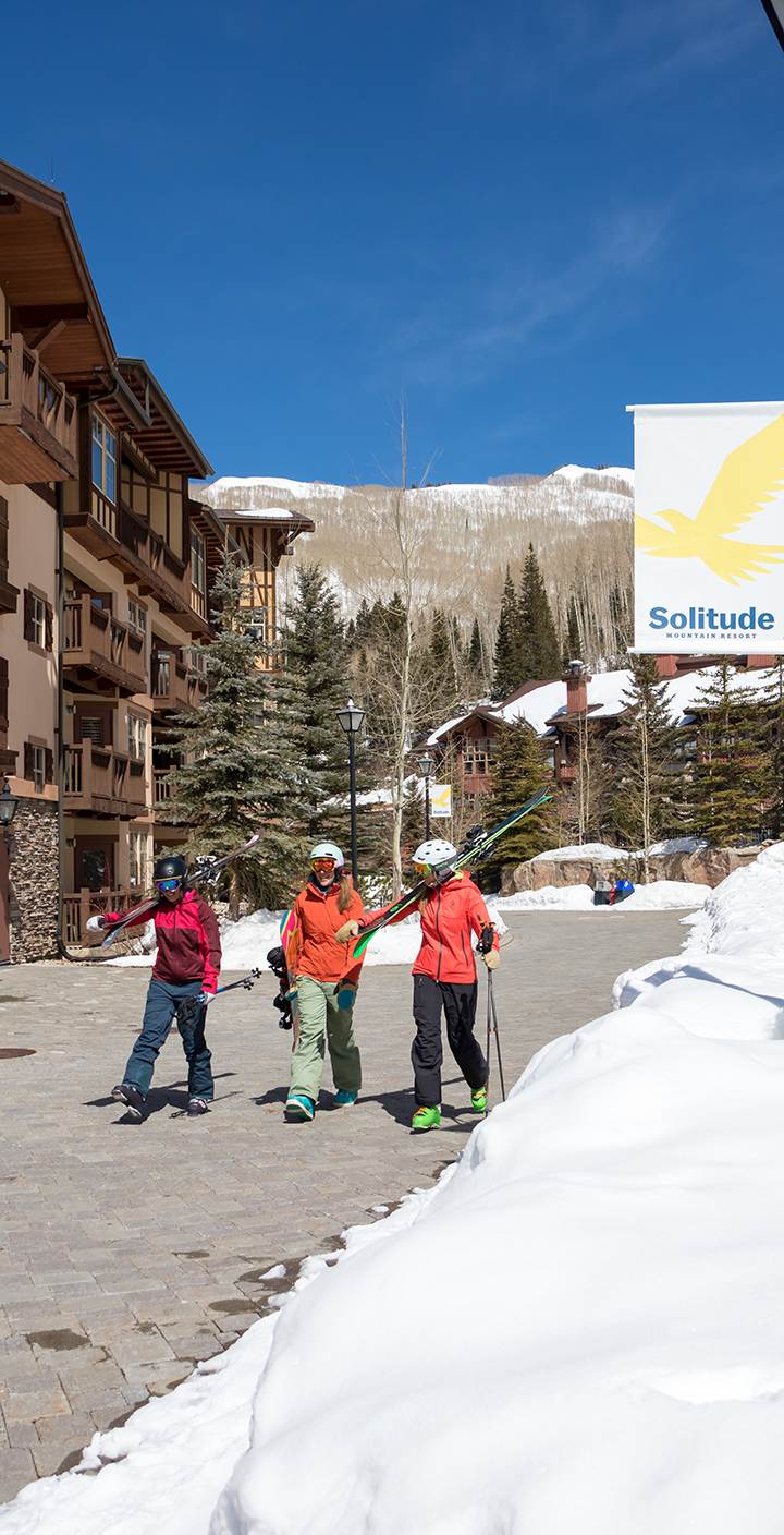 A day at the village at Solitude Mountain Resort