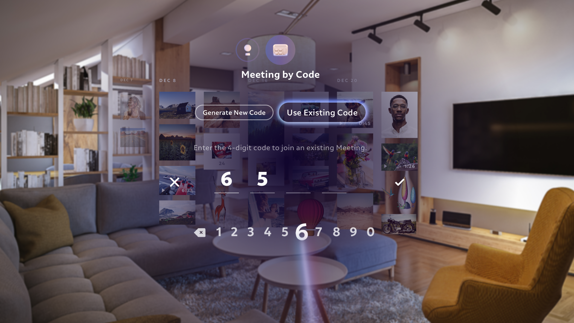 Meetings - Use Existing Code