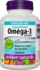 SuperVision Oméga-3 avec 10 mg de lutéine par jour