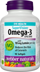 SuperVision® Omega-3 with 10 mg Lutein per day