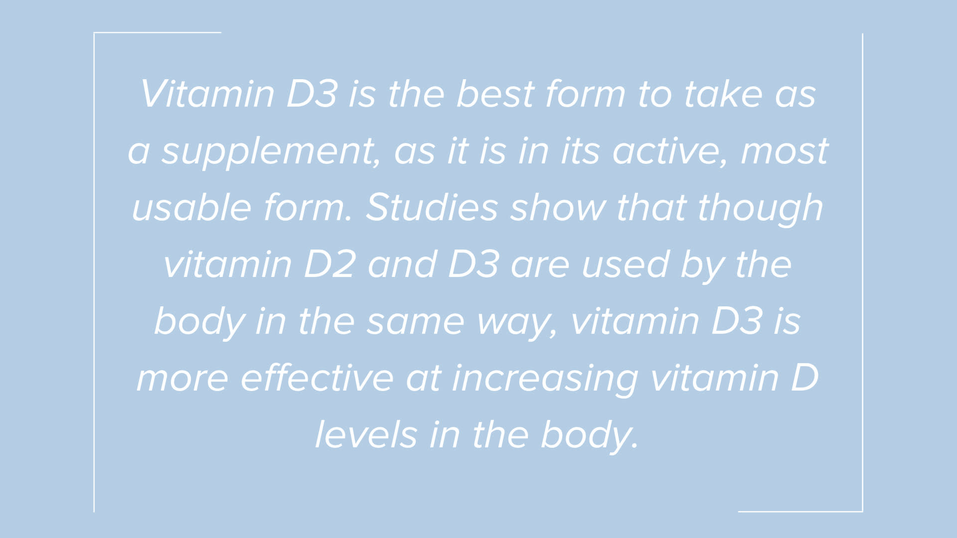 Call-Out from Do You Need Vitamin D in Summer?