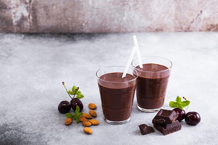 Chocolate Banana Cherry Smoothie Recipe