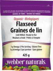 Organic Flaxseed Cold Milled