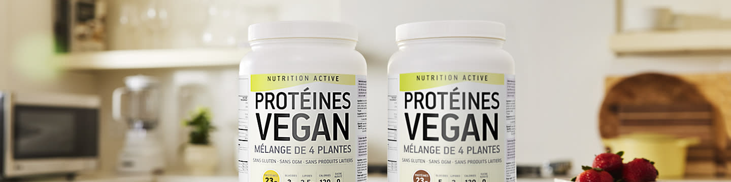 Active Nutrition Vegan Protein French