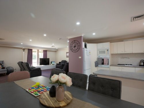 Picture of kitchen, living and dining area