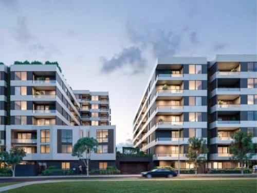 Artist impressions of apartment building exterior