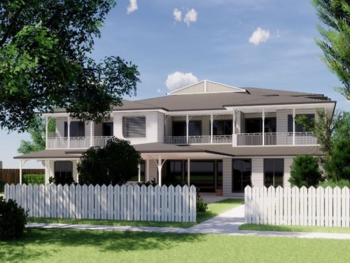 artist impression of the property in Toowoomba