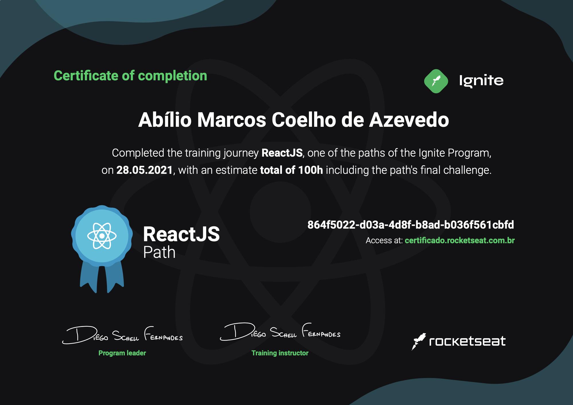 Cover Image for Ignite Program - Journey ReactJS
