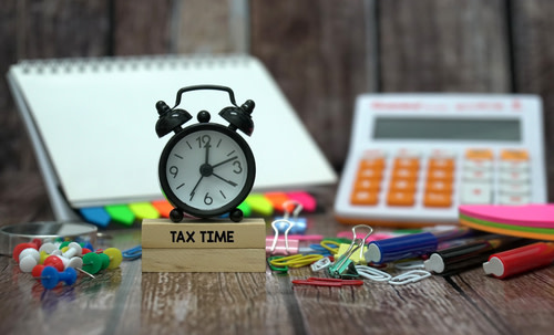 Tax Time with Alarm Clock