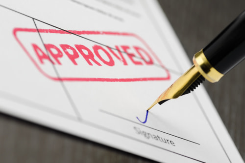 Signing an Approved Contract