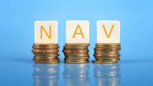 NAV on top of coins
