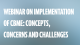 Webinar on Implementation of CBME: concepts, concerns and challenges