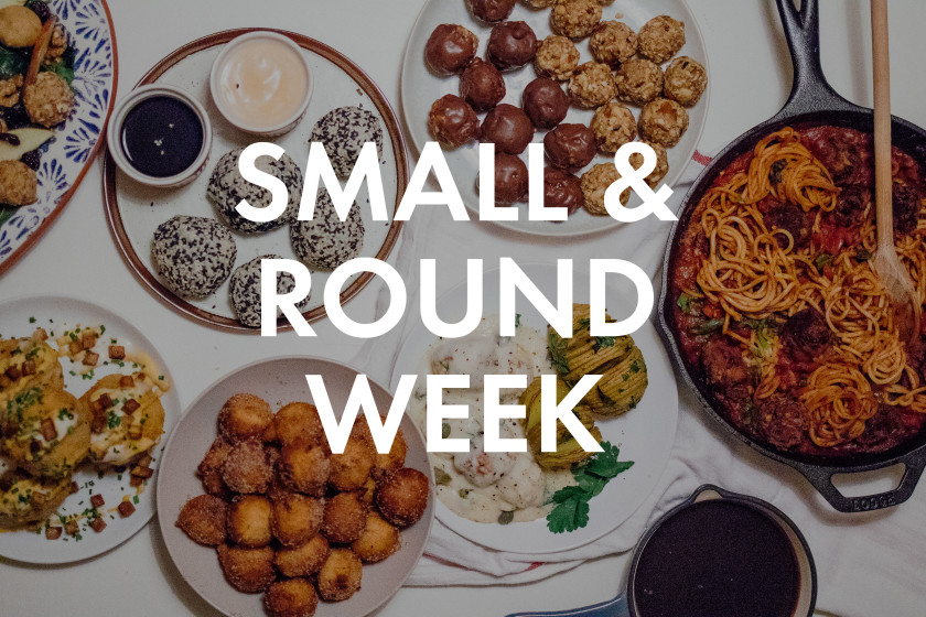 A48 7 small & round recipes