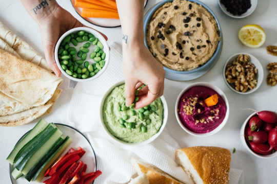 3 recipes for your hummus party