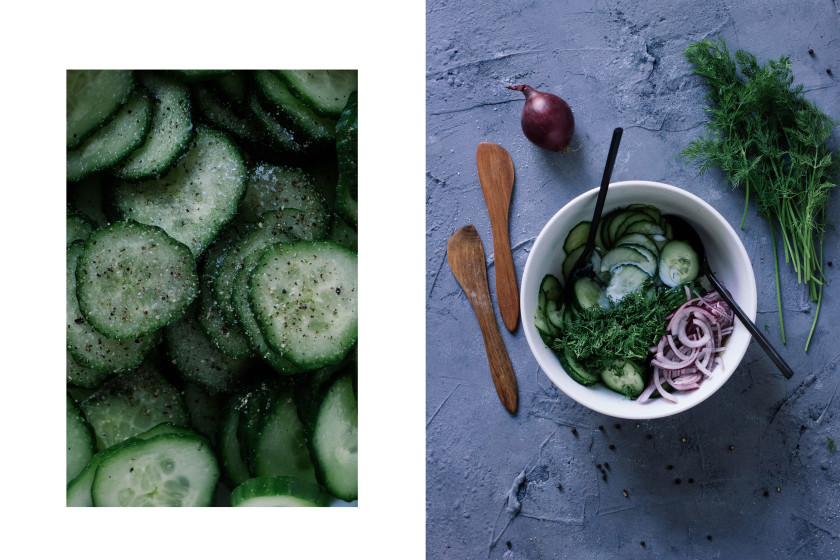 R241 Vegan Cucumber Salad