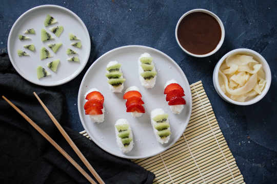 Vegan Sweet Sushi