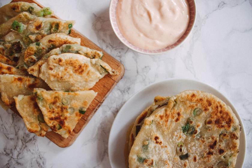 R162 Scallion Pancakes