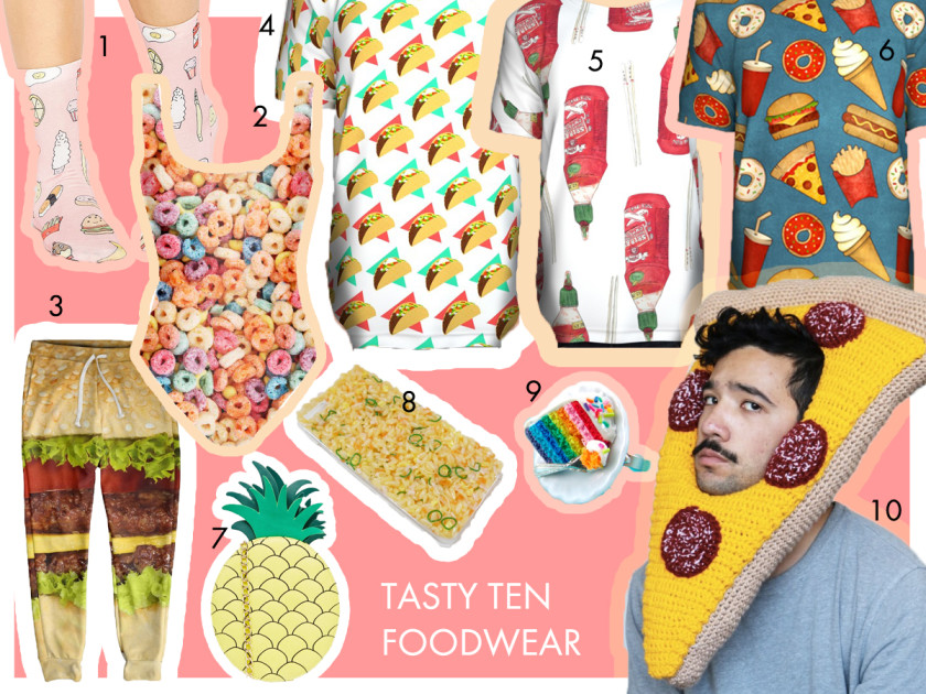 A2 Tasty Ten Foodwear