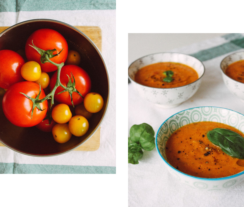 R123 Oven roasted tomato soup