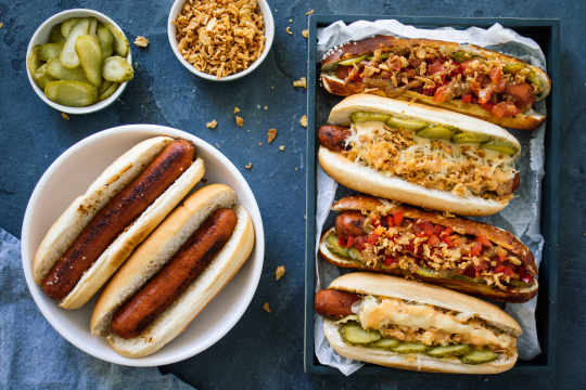 Carrot Dogs with two toppings