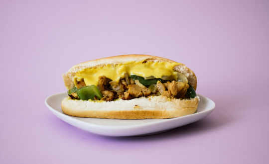 Vegan Cheesesteak Sandwich