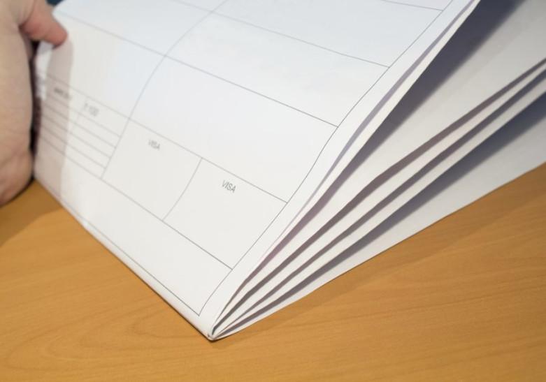 Papeterie Plan architecte