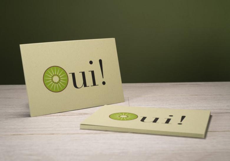 Carte papier ecologique