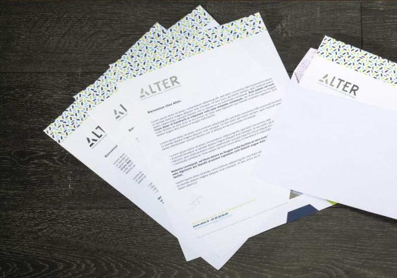 Papeterie Tete de lettre