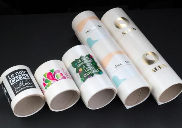 Etiquetas en bobina estándar y con acabados