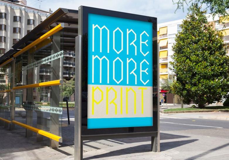 Affiche Mobilier urbain