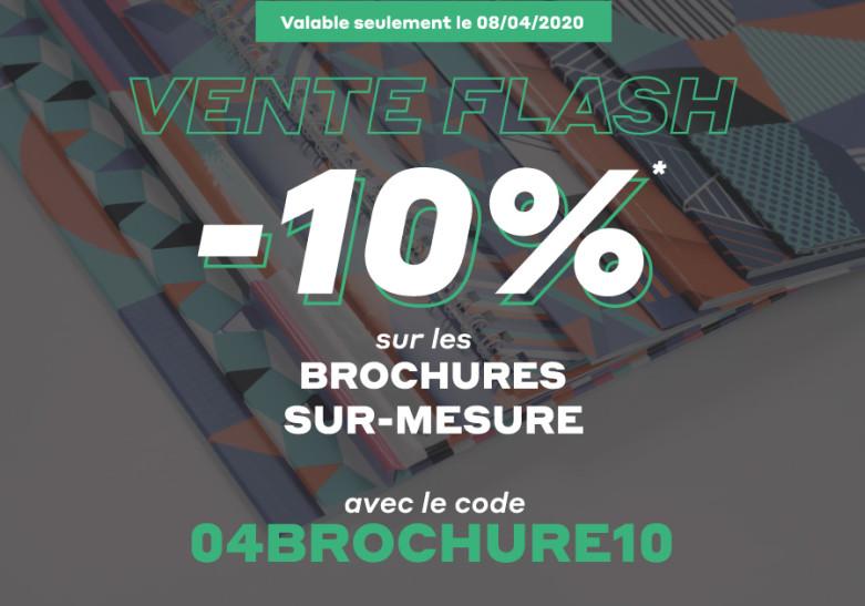 -10% sur les brochures sur-mesure sur exaprint.fr
