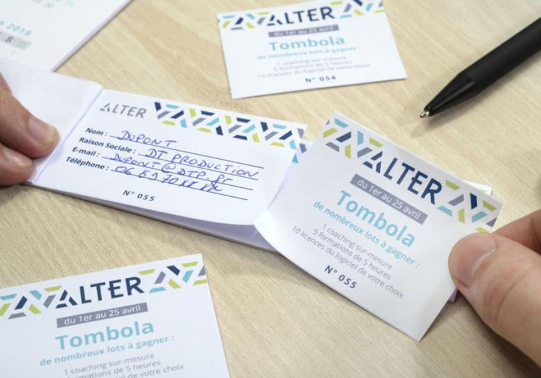 Salon Evenement ticket tombola