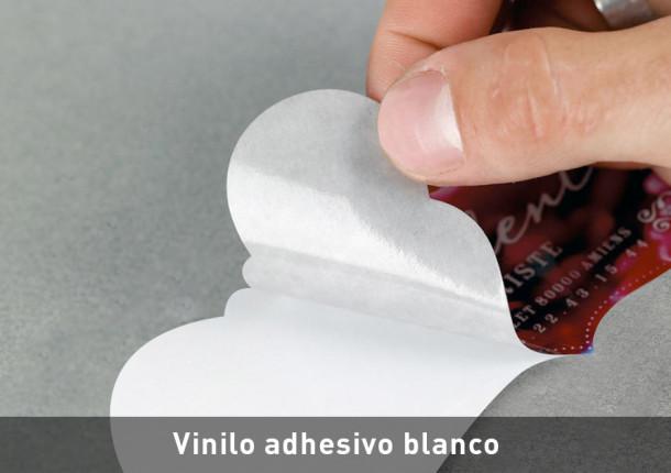 Vinilo adhesivo blanco