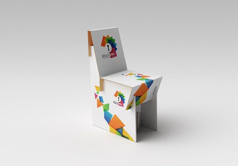 Mobilier Pub Chaise carton