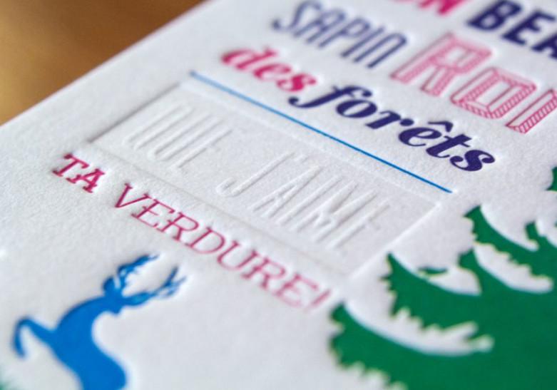 Carte Letter Press 4