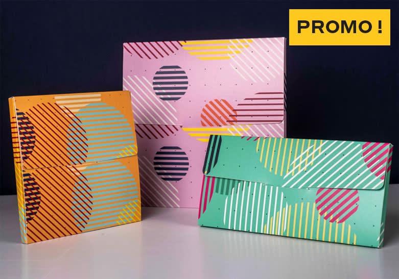 Promo - packaging standard pochette courrier