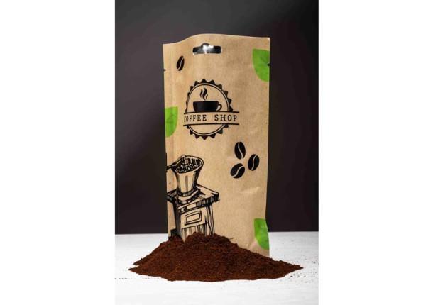 Packaging flexible doypack 25 cl café
