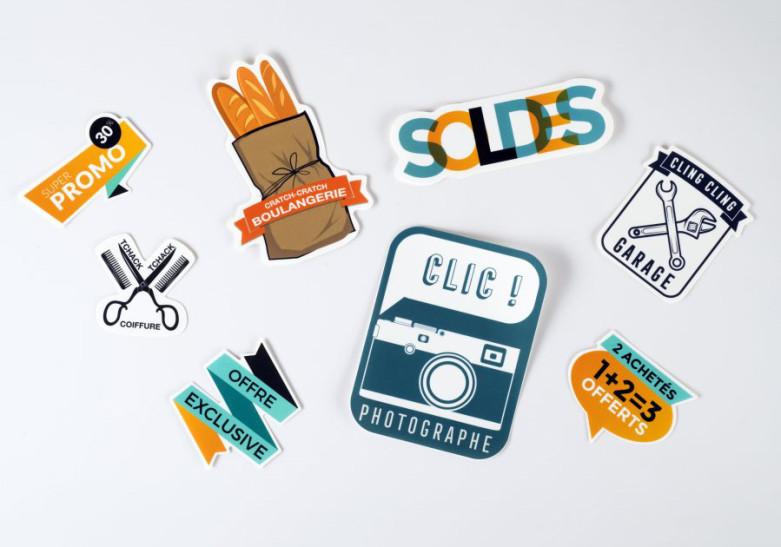 Sticker Etiquette Sticker sur-mesure