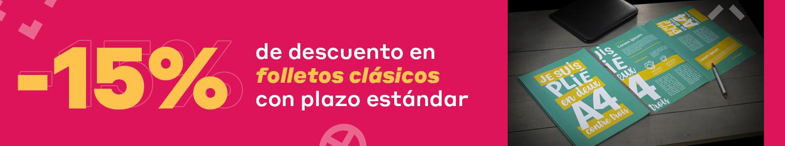 banner folletos clasicos -15% sept