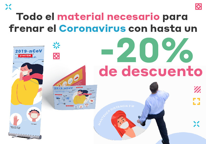 imprimir coronavirus