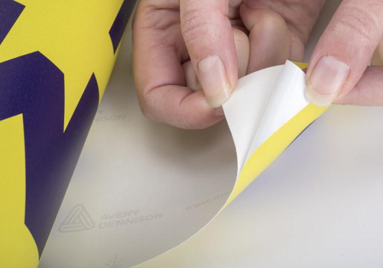 Signaletique adhesif vinyle mural