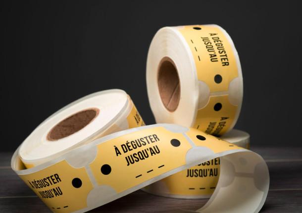Etiquetas en bobina multimodelo