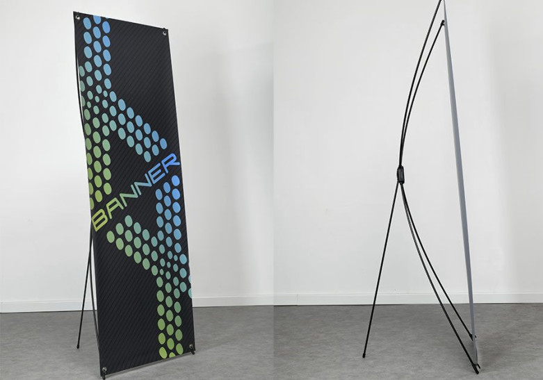 PLV X-banner